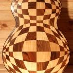 guitare Marqueterie Damier Folk