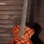 guitare Jazz rock art concept Hollow body