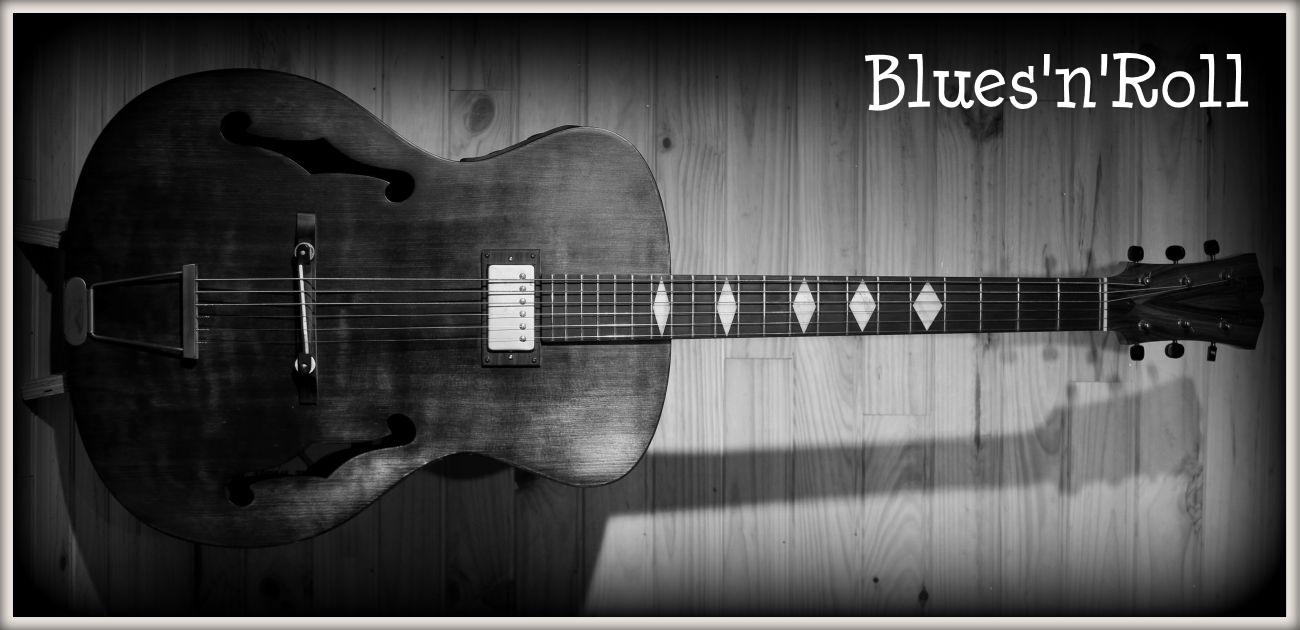 guitare Blues Hollow body