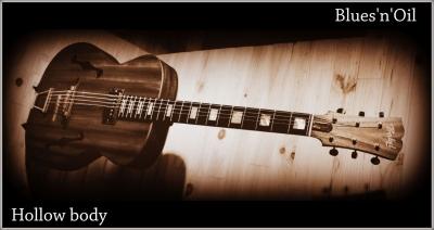 guitare Blues rock Hollow body