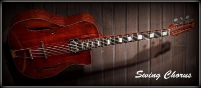 guitare Jazz Swing Hollow body
