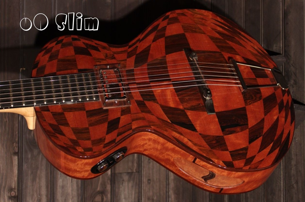 Guitare Hollow body featured