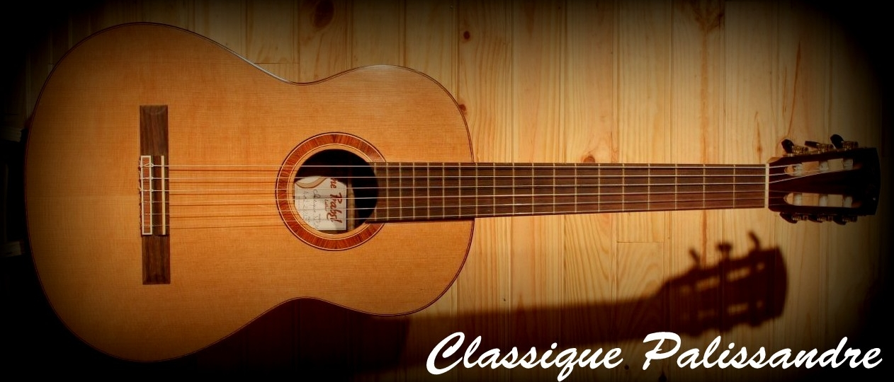 guitare classique nylon palissandre cèdre