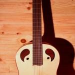 guitare classique cyprès reflexion