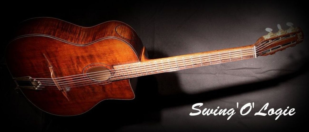 Guitare luthier jazz swing manouche django