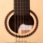 rosace guitare luthier table