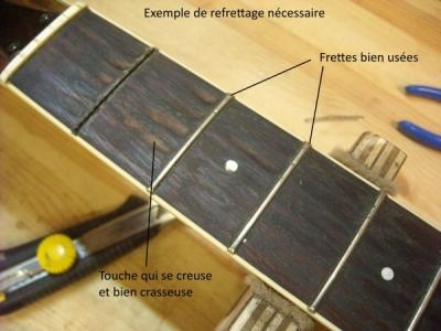 frette guitare luthier
